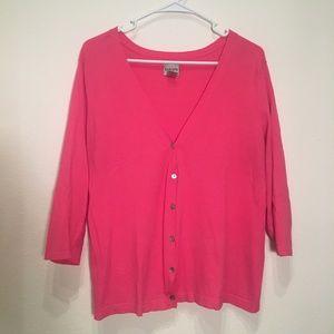 50% OFF BUNDLES - Chico's Pink Cardigan